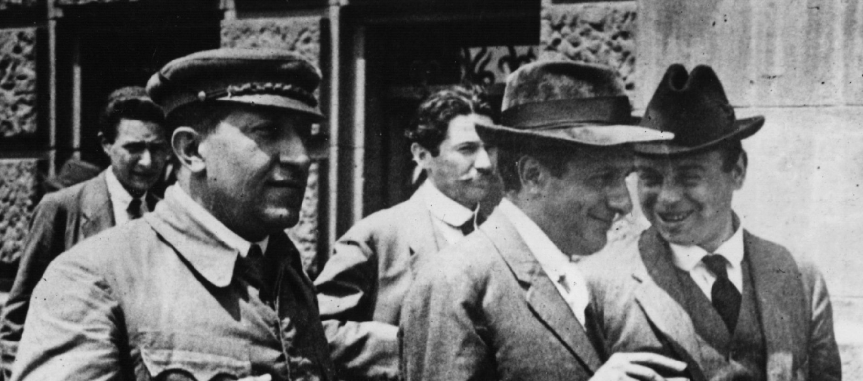 Pogány József,Kunfi Zsigmond és Kun Béla /Fotó: Getty I.