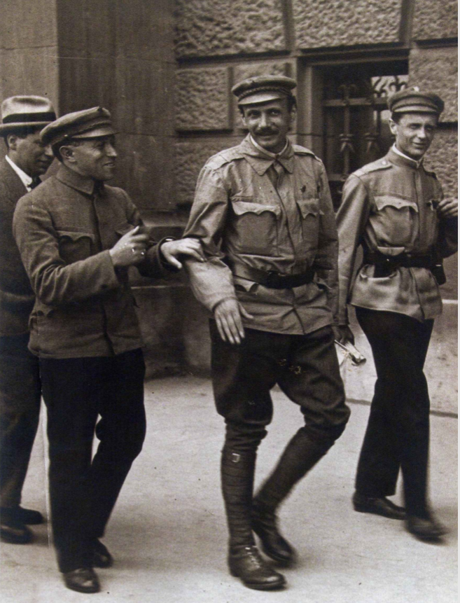 Rákosi balra, 1919, Tanácsköztársaság / Fotó: Rubicon, 2011
