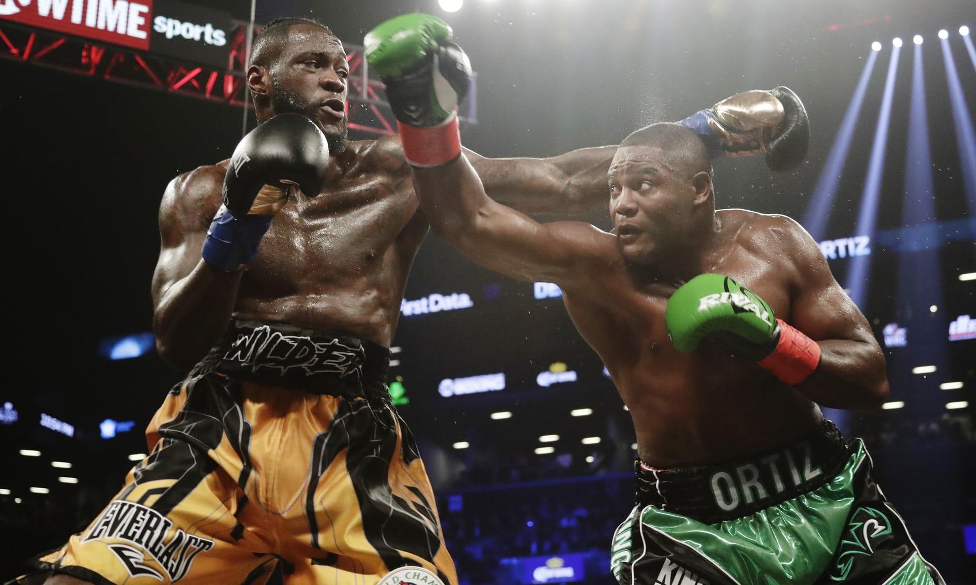 Wilder (balra) a kubai Ortiz ellen