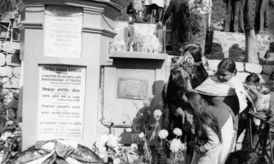 Kőrösi Csoma Sándor sírja, India, 1975 / Fotó: Fortepan.hu