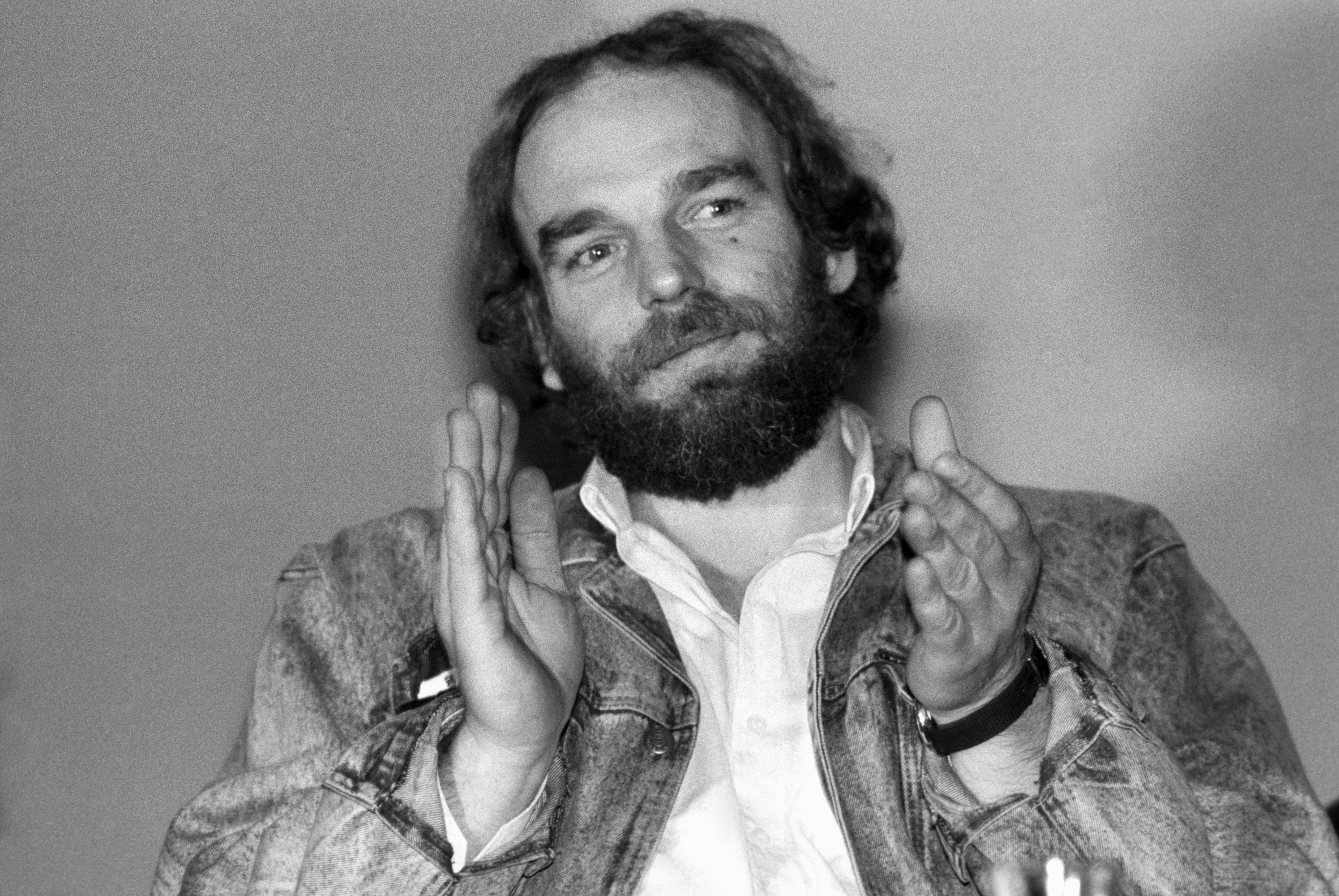 Csengey Dénes 1989-ben / Fotó: MTI