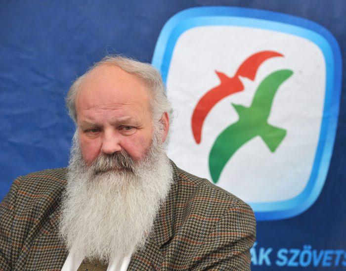 Egy másik feljelentő: Iványi Gábor lelkész, a néhai SZDSZ korábbi EP-képviselõjelöltje / Fotó: MTI