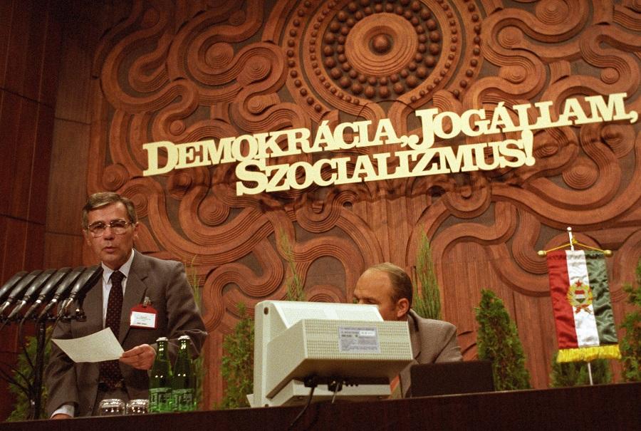 A jogállam már nagyon fontos! 89 és Horn és MSZMP / Fotó: MTI