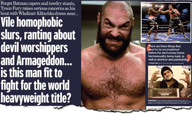 A Daily Mail egyik lejárató cikke