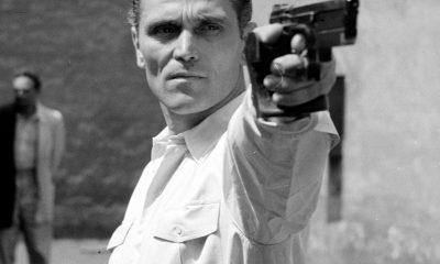 Takács Károly edzés közben (1954) / Fotó: MTI