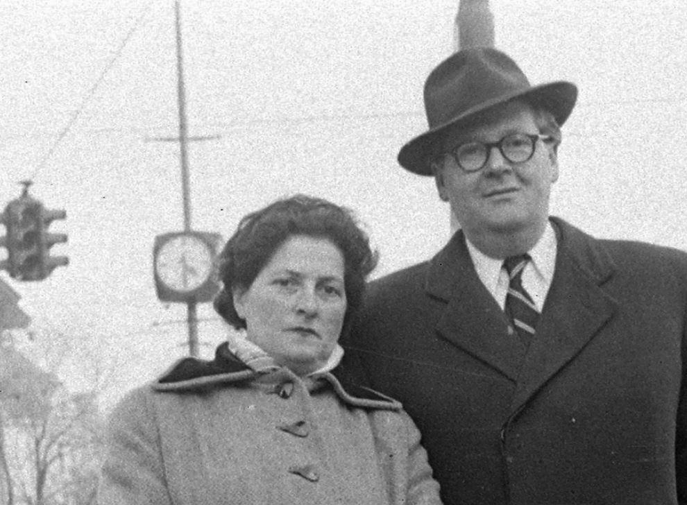 Nyírő Gyula és felesége Ausztriában, 1963 / Fotó: Fortepan.hu
