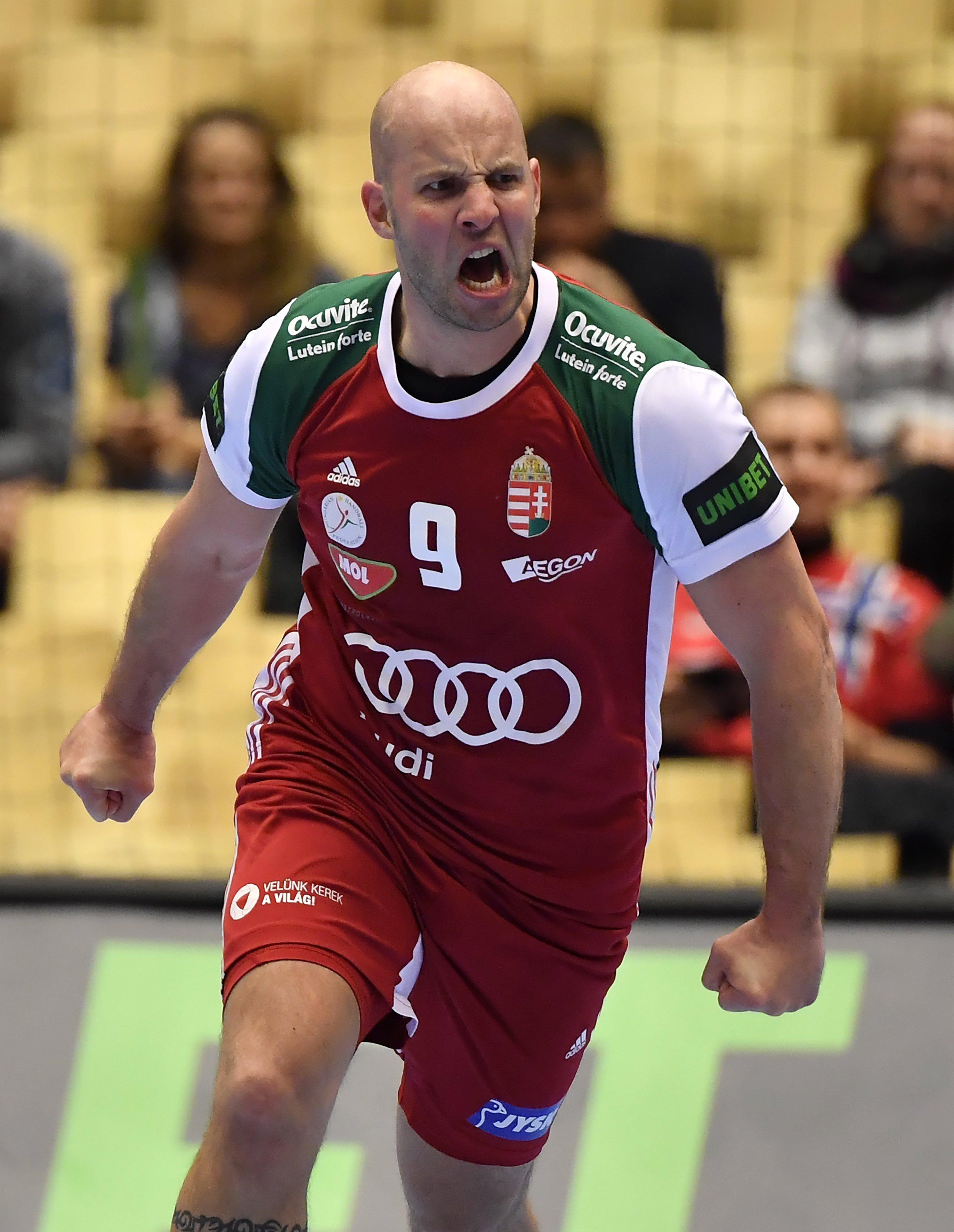 Balogh Zsolt gólöröme / Fotó: MTI