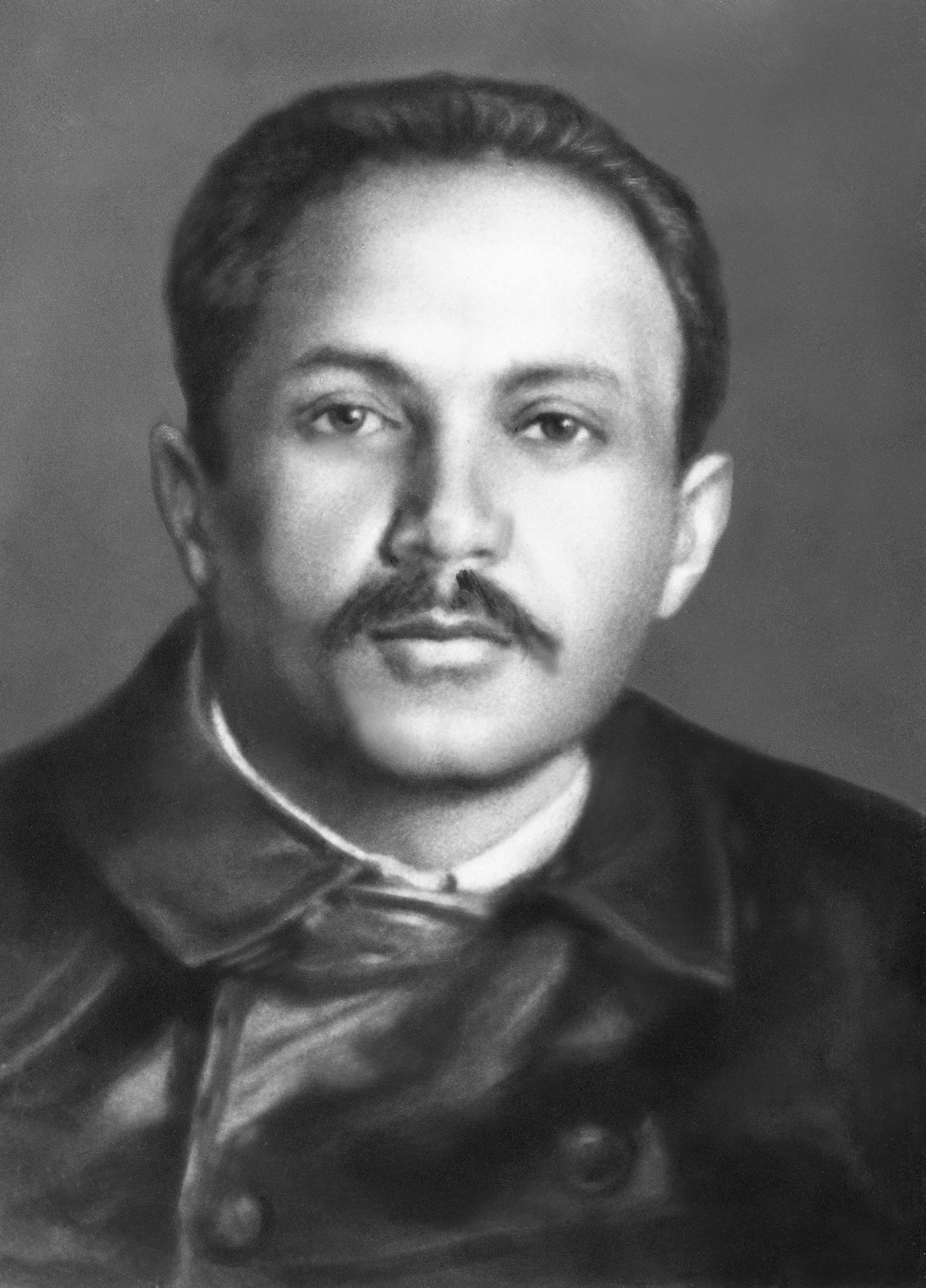 Budapest, Vágó Béla (Weiss Béla) (1881-1939.), 1905 után a szociáldemokrata baloldal egyik vezetõje, és a Népszava munkatársa. A felvétel készítésének dátuma ismeretlen. MTI Fotó: Reprodukció