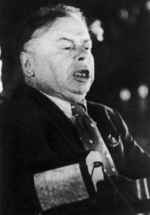 Kun Béla a Komintern 1935-ös kongresszusán. Nem sokkal később kivégezték / Forrás: Tortenelemportal.hu
