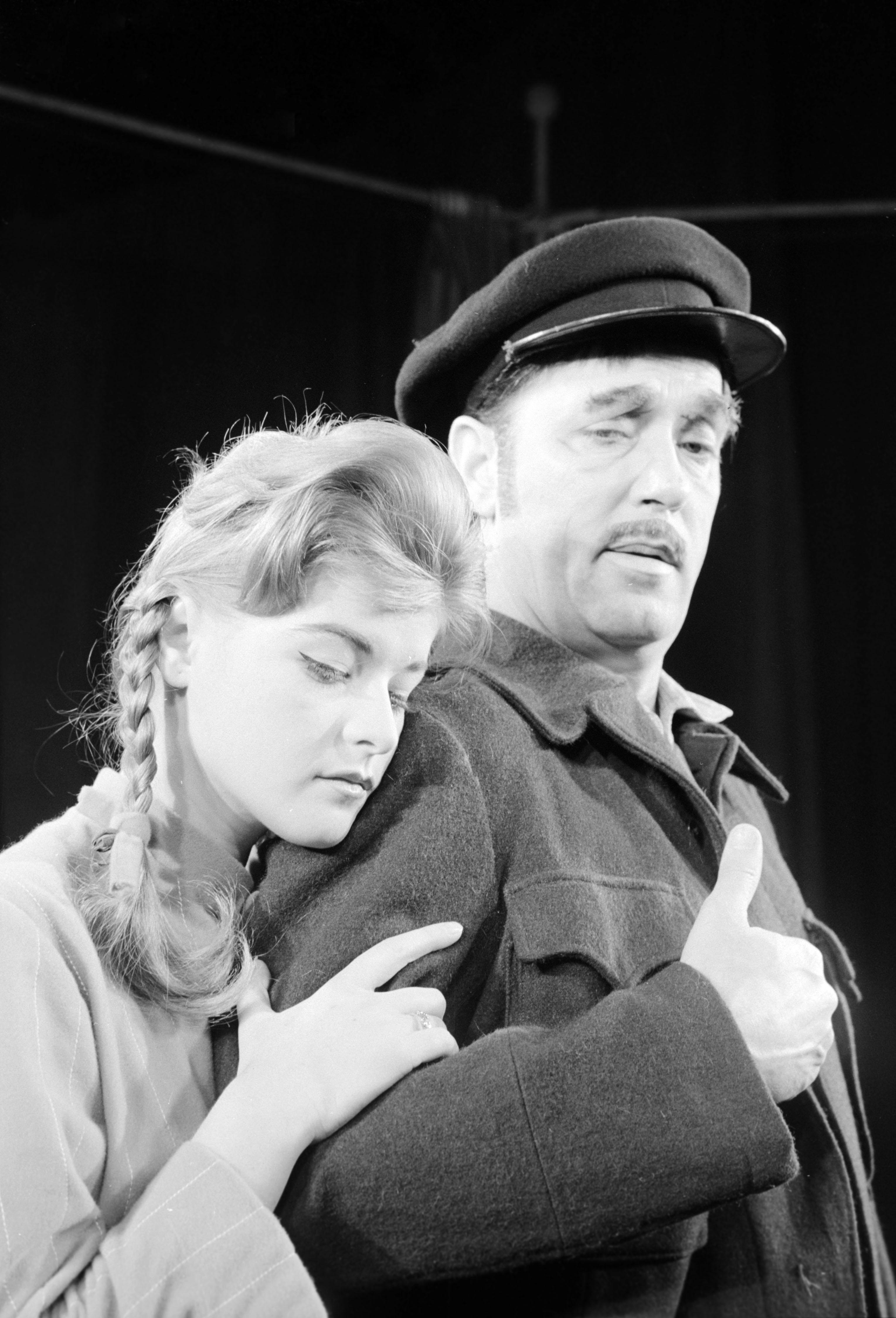 Sólyom Ildikó és Benkő Gyula a József Attila Színházban (1960) / Fotó: MTI