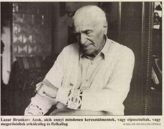 Brankov a Magyar Nemzetben / Forrás: Magyar Nemzet/Arcanum.hu