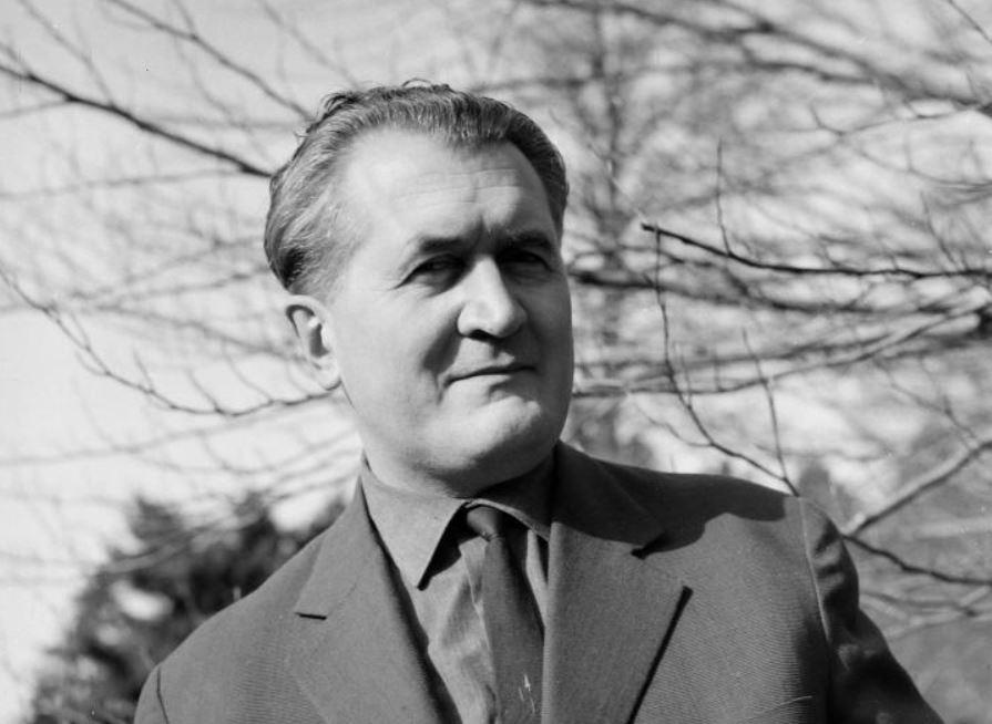 Cseres Tibor, 1965 / Fotó: Fortepan.hu