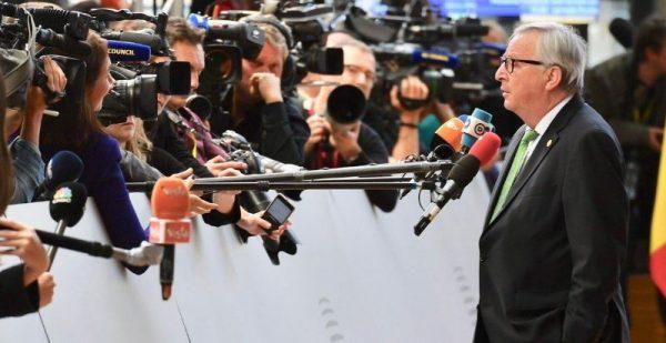 Juncker utolsó alkalommal jelent meg, mint az EB elnöke Fotó:Twitter