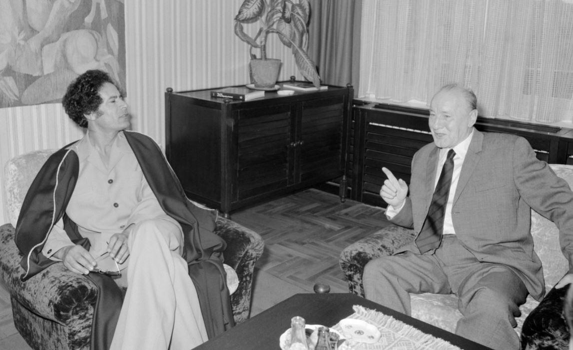 Kadhafi és Kádár Budapesten (1978) / Fotó: MTI