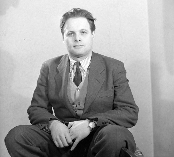 """""""Újságíróként"""" 1956-ban / Fotó: Fortepan.hu"""