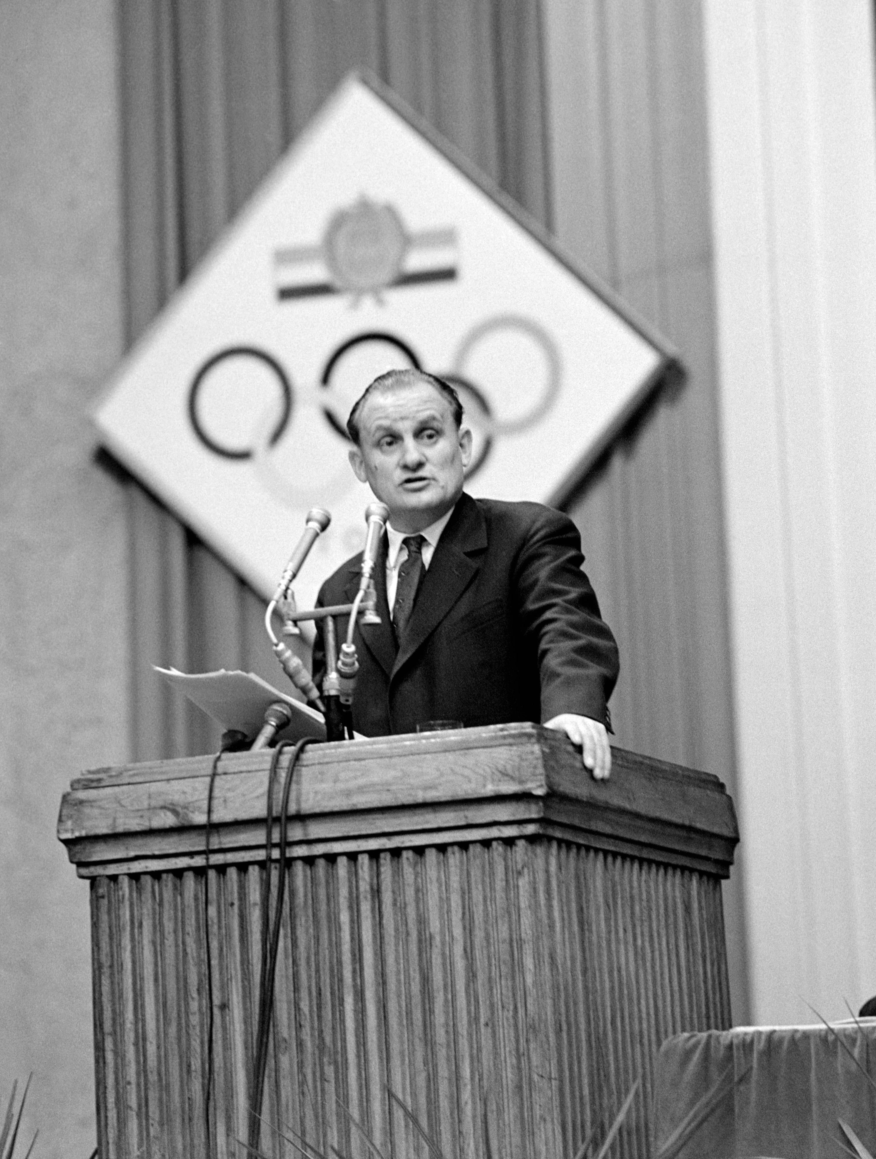 Egri Gyula, a Magyar Testnevelési és Sporttanács (MTST) elnöke / Fotó: MTI