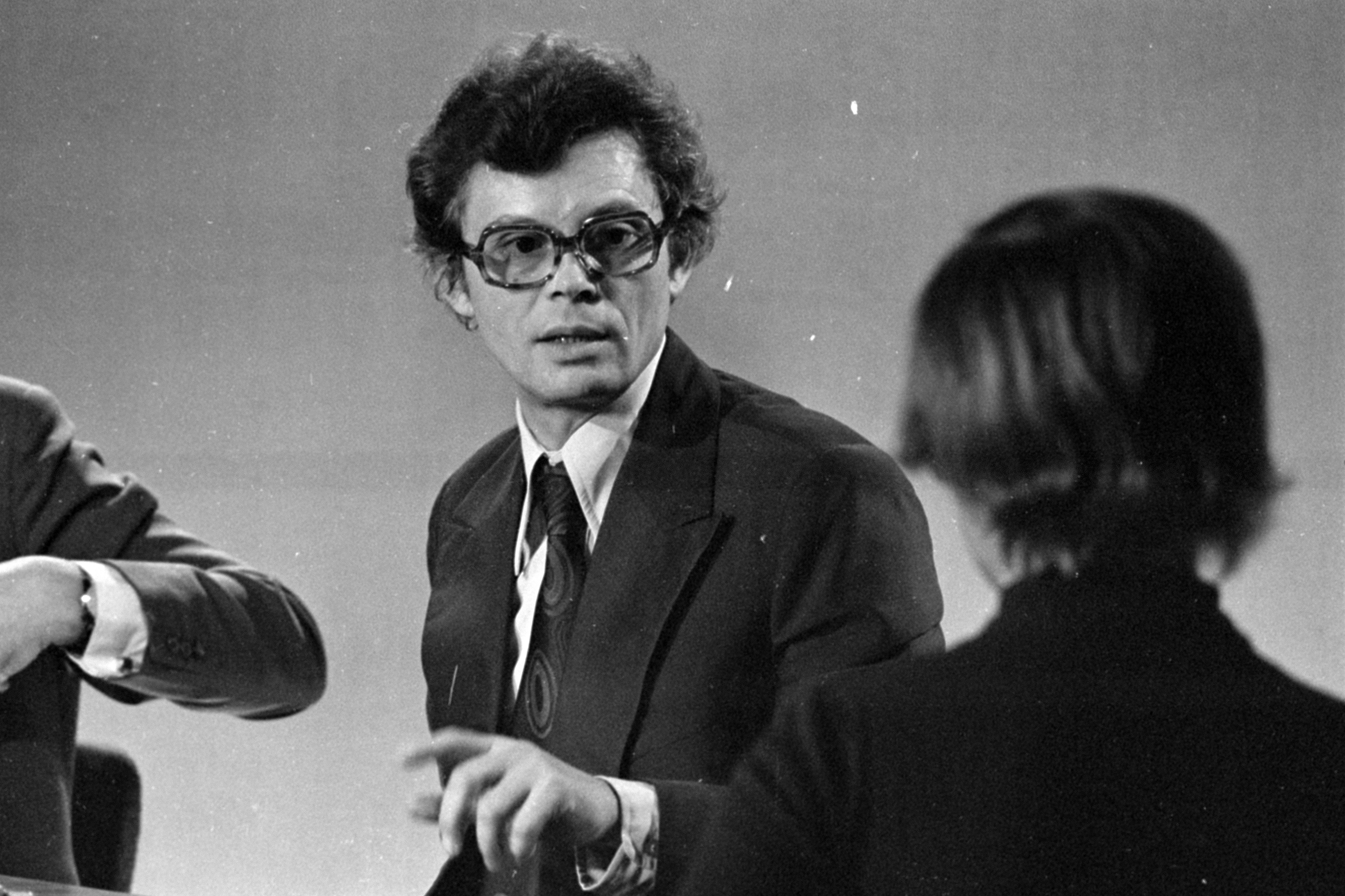 Bán János riporter, 1978. Forrás: Fortepan / ADOMÁNYOZÓ: SZALAY ZOLTÁN