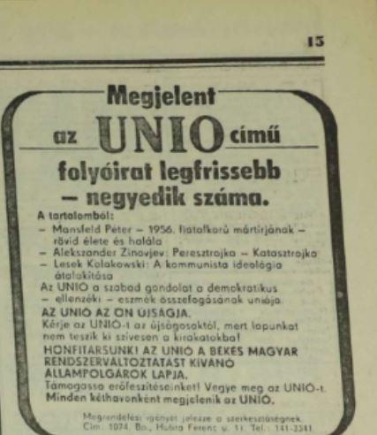 Furcsa hirdetés / Forrás: Magyar Nemzet / Arcanum.hu