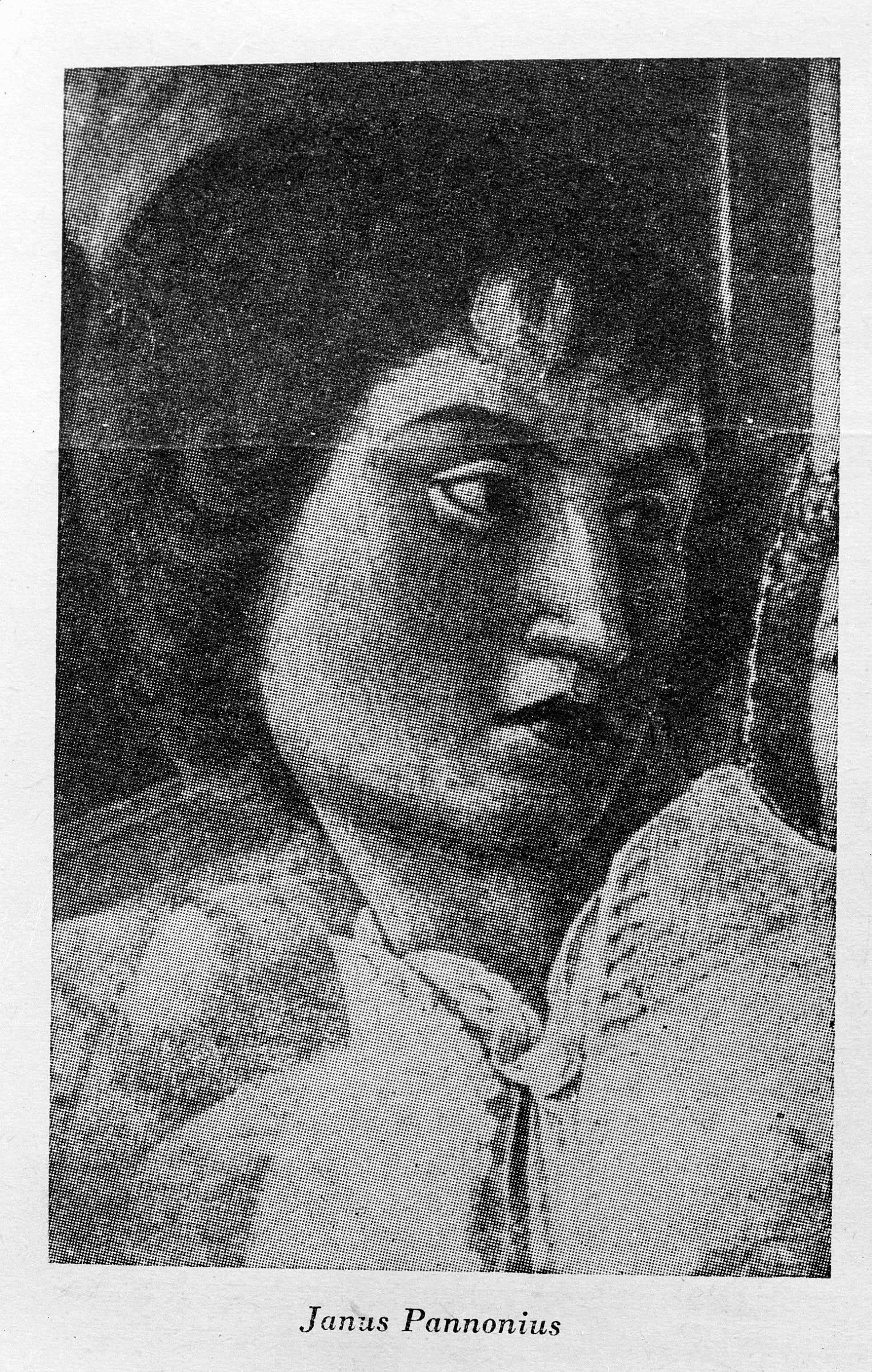 Janus Pannonius egy korabeli festményen. / MTI Fotó: Reprodukció