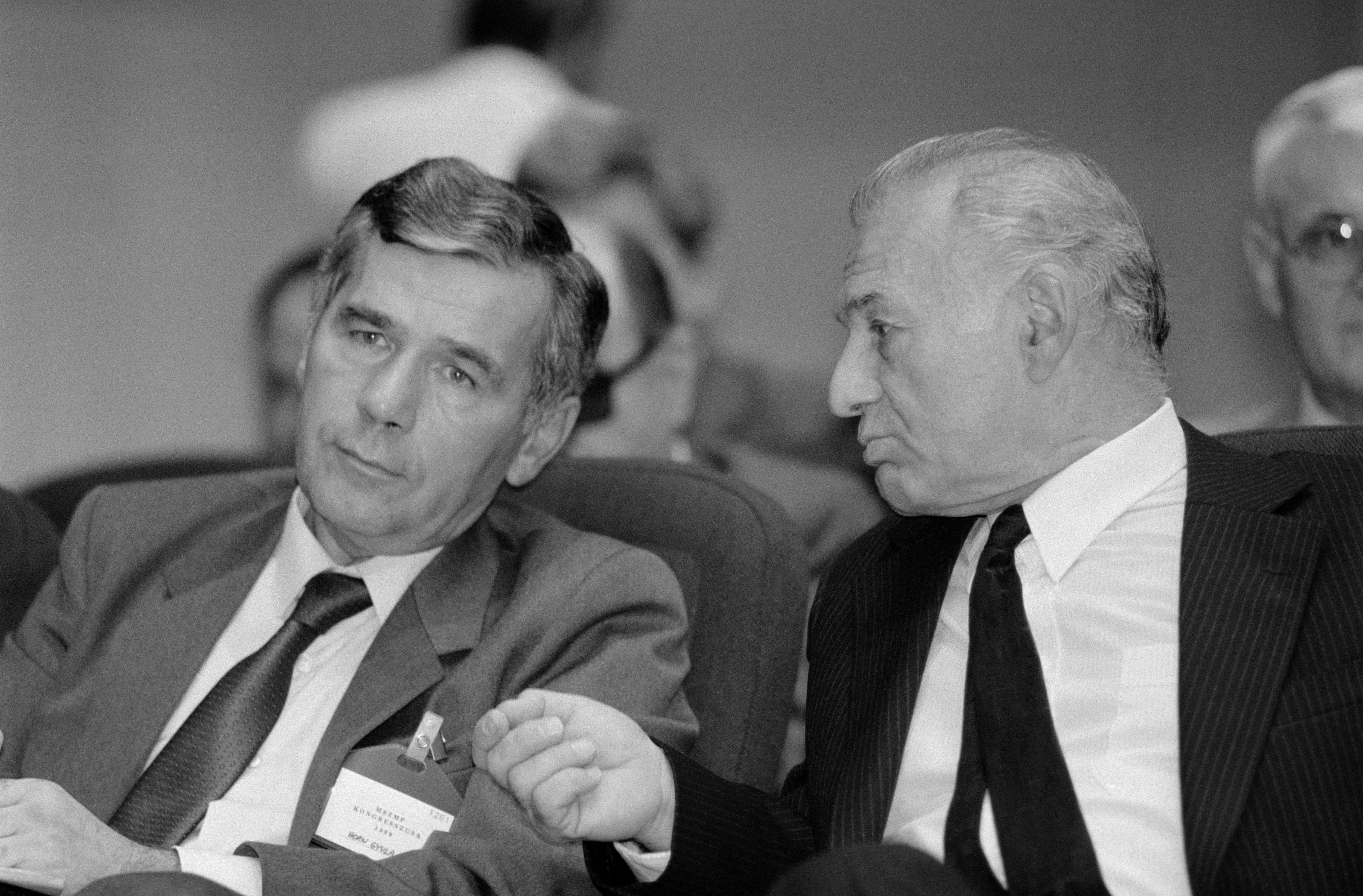 Horn Gyula és Nyers Rezső: Na és? / Fotó: MTI