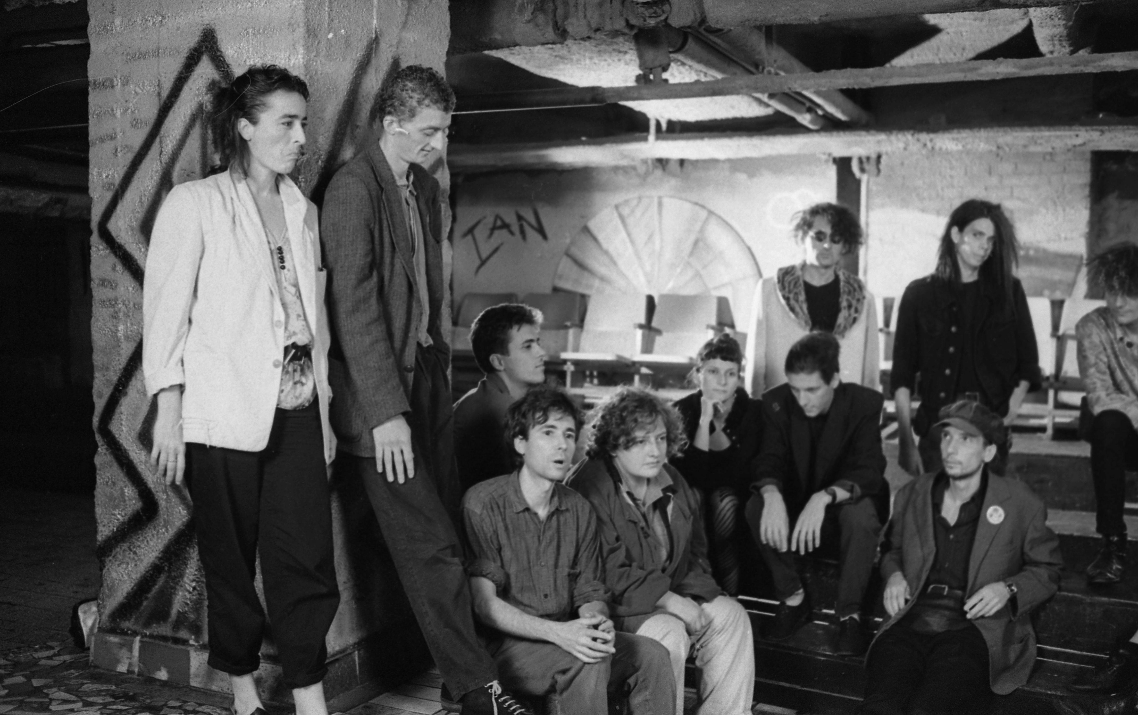1982. Magyarország, a balatonfüredi gyár. Új hullámos együttesek fesztiválja /Fotó: Urbán Tamás/Fortepan.hu