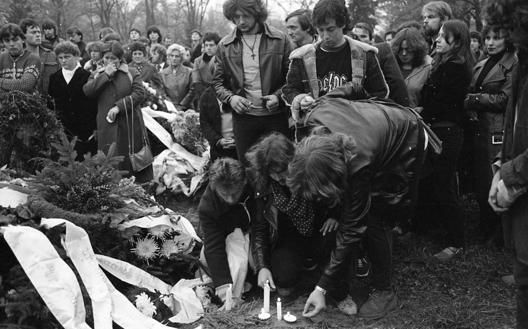 Radics Béla temetése / Fotó: Urbán Tamás, Fortepan.hu