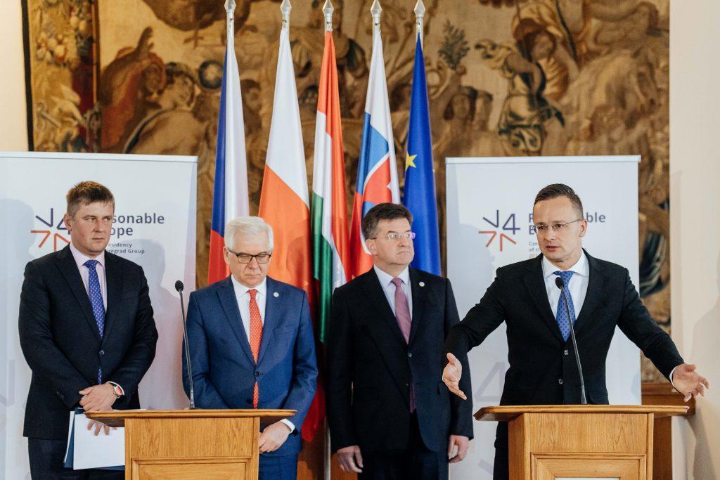 A V4-tagállamok külügyminiszterei üdvözölték a nyugat-balkáni Shengen létrehozását