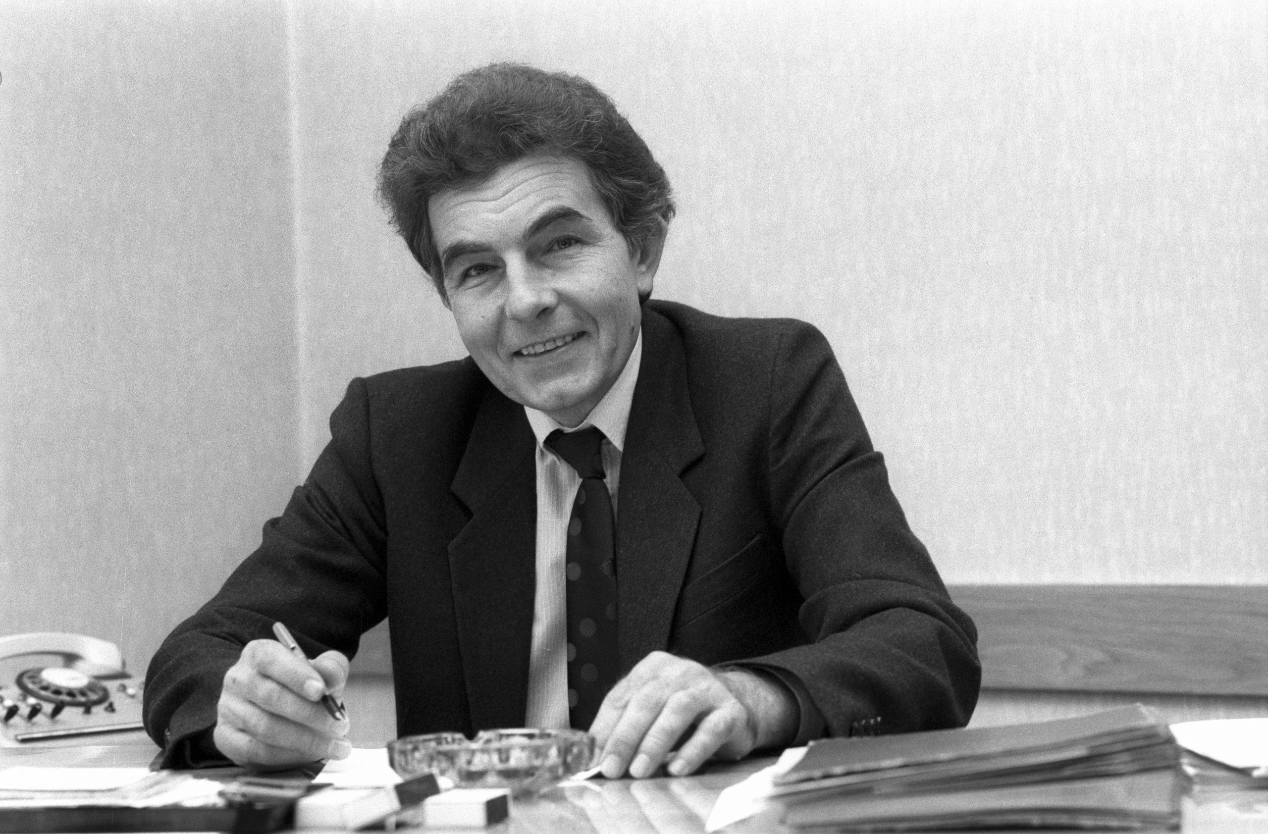 Csikós József, a Magyar Szocialista Munkáspárt Központi Bizottsága (MSZMP KB) munkatársa / Fotó: MTI