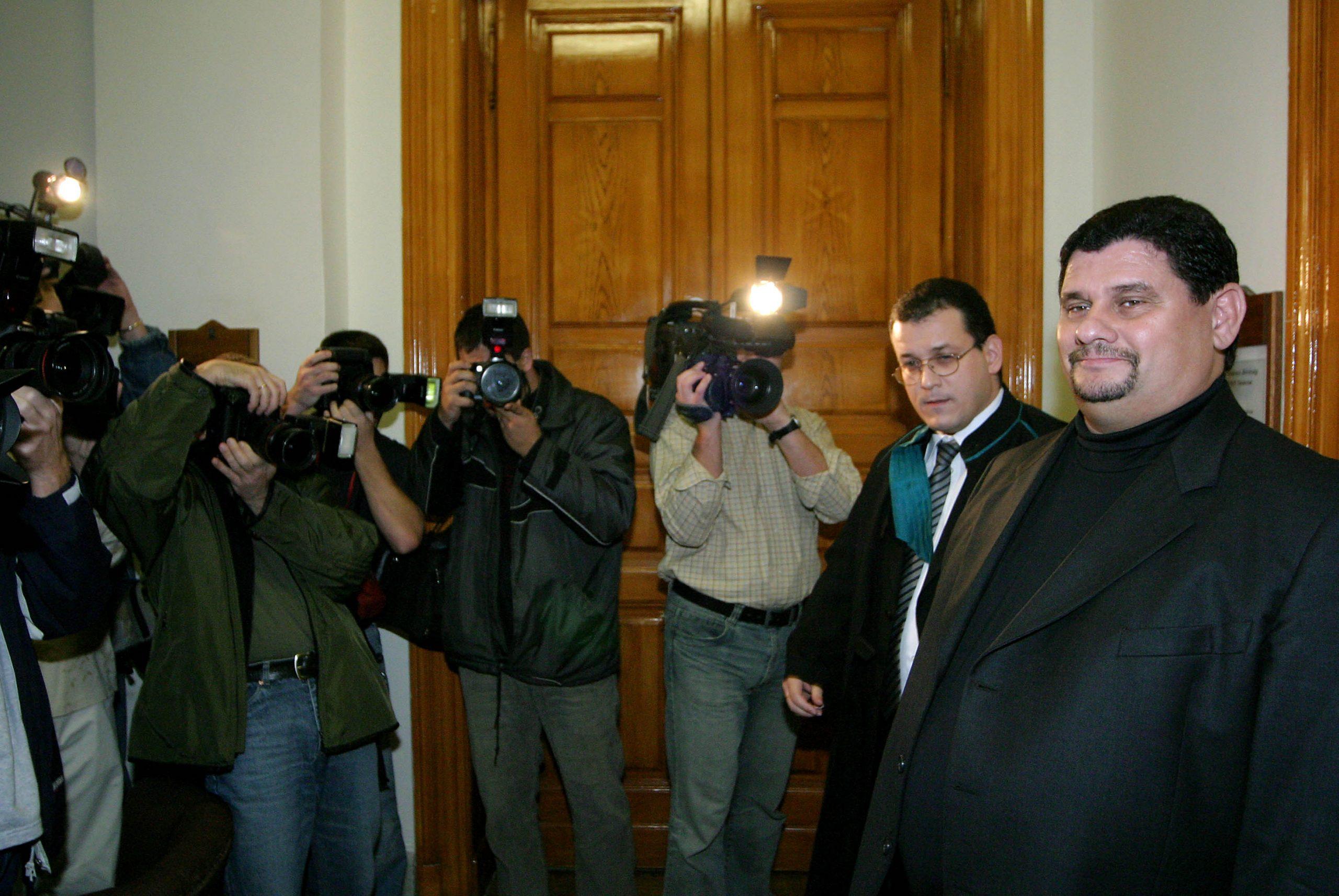Princz Gábor vidáman / Fotó: MTI