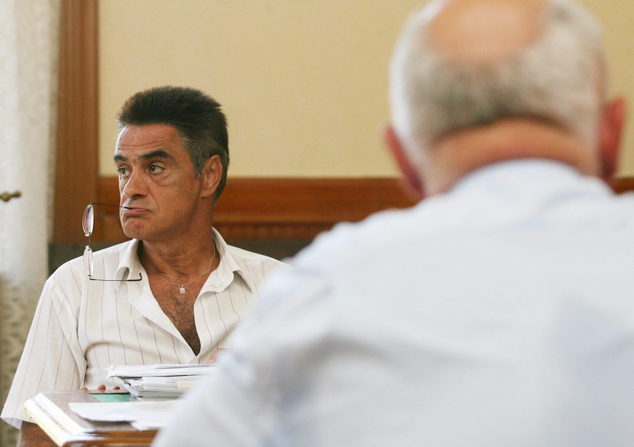 Kende Péter, amikor elbukott a Martonyi János elleni peren / Fotó: MTI