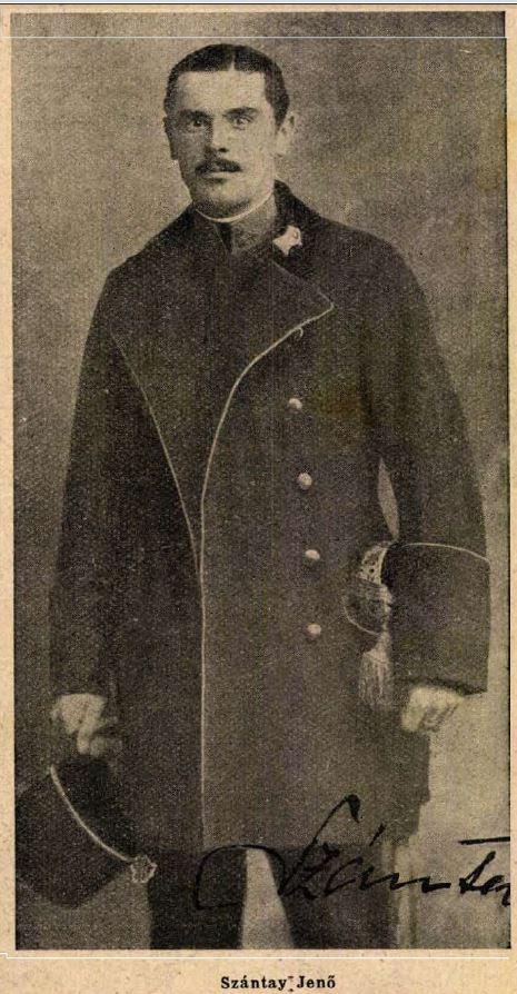 Szántay Jenő az Érdekes Újságban (1915) / Forrás: Arcanum.hu