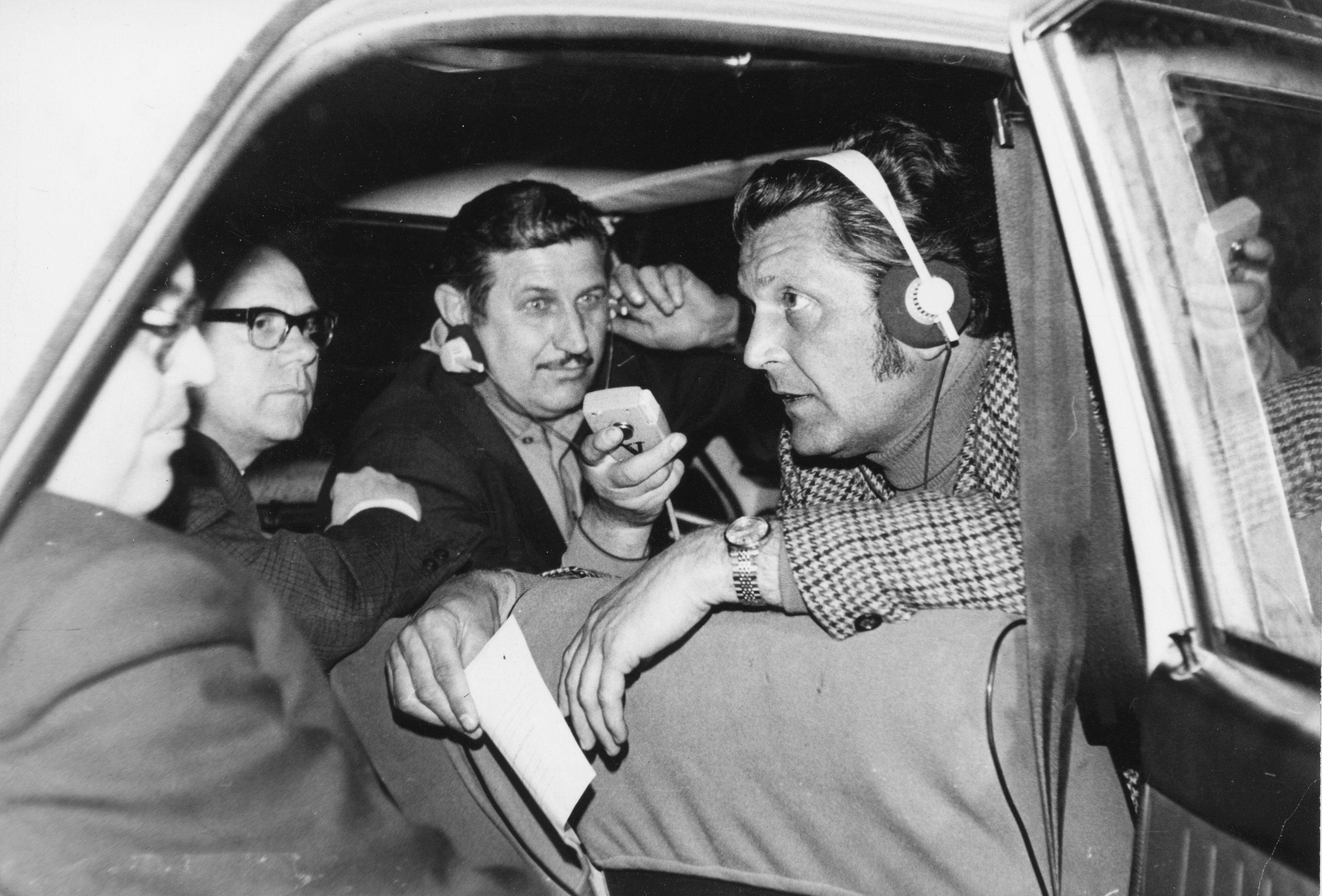 Fikár László, a Magyar Rádió riportere, 1969-ben. Forrás: Fortepan.hu/ Adományozó: RÁDIÓ ÉS TELEVÍZIÓ ÚJSÁG/LÁSZLÓ PÁL FELVÉTELE