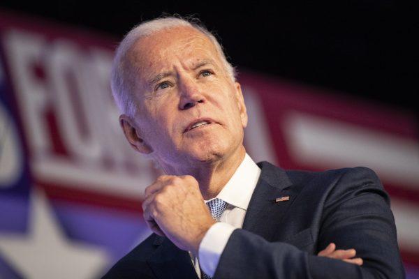 Joe Biden volt amerikai alelnök /Fotó: MTI/EPA/Etienne Laurent