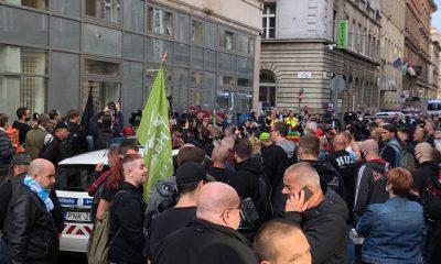 Deák téri tüntetés