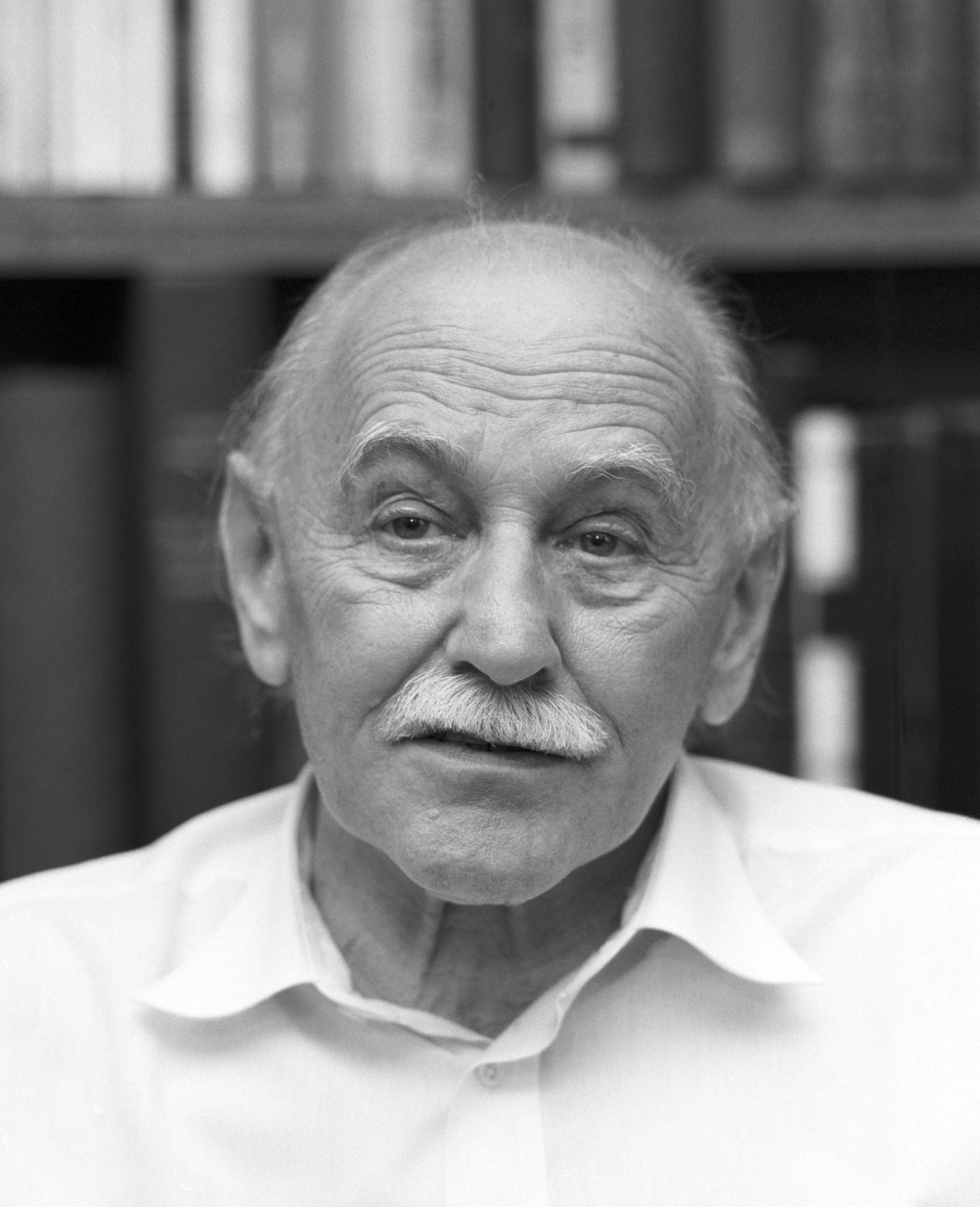 Dr. Benedek István Széchenyi-díjas orvos, író / Fotó: MTI