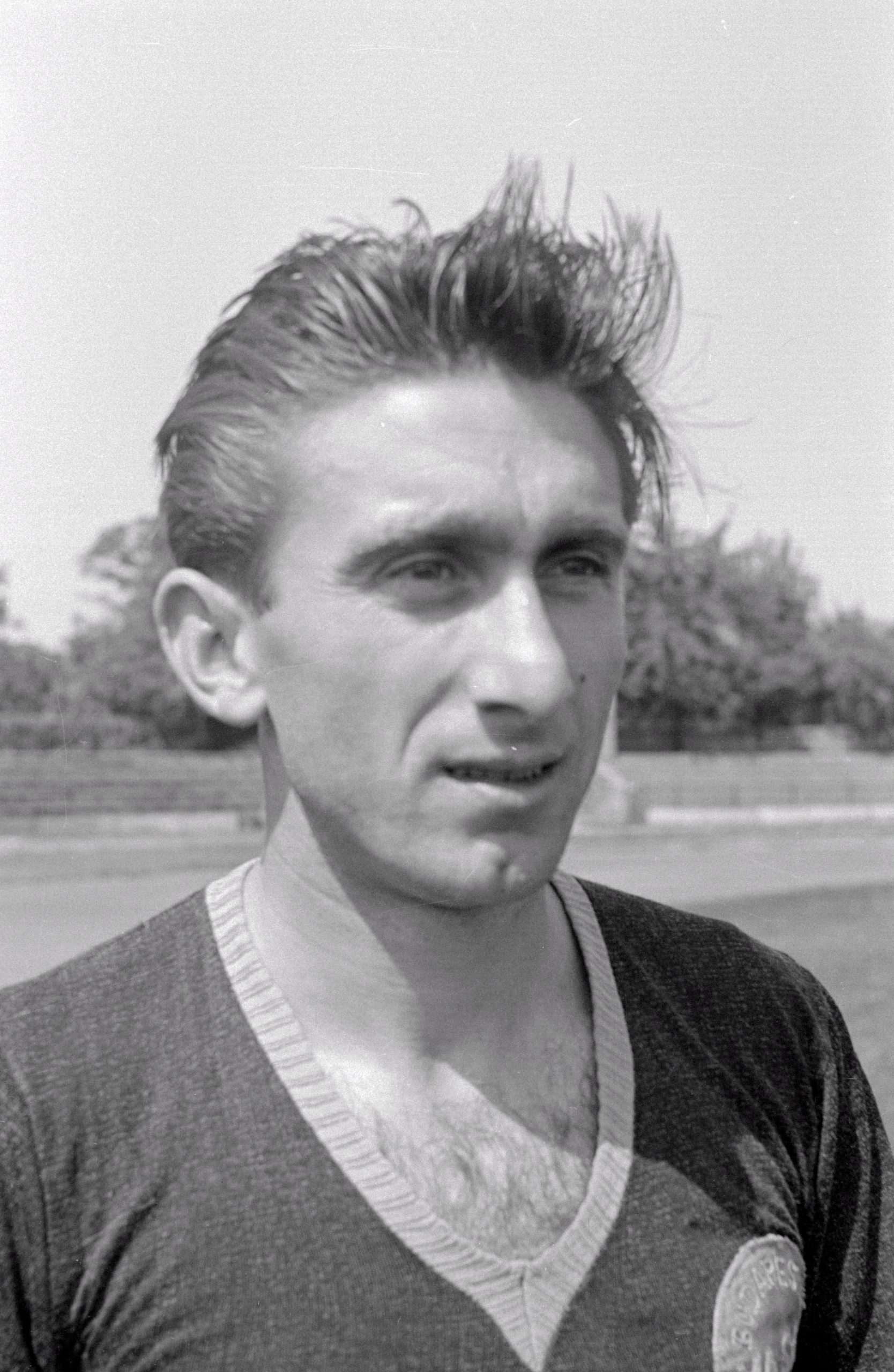 Raduly József, a Vasas labdarúgója / Fotó: MTI