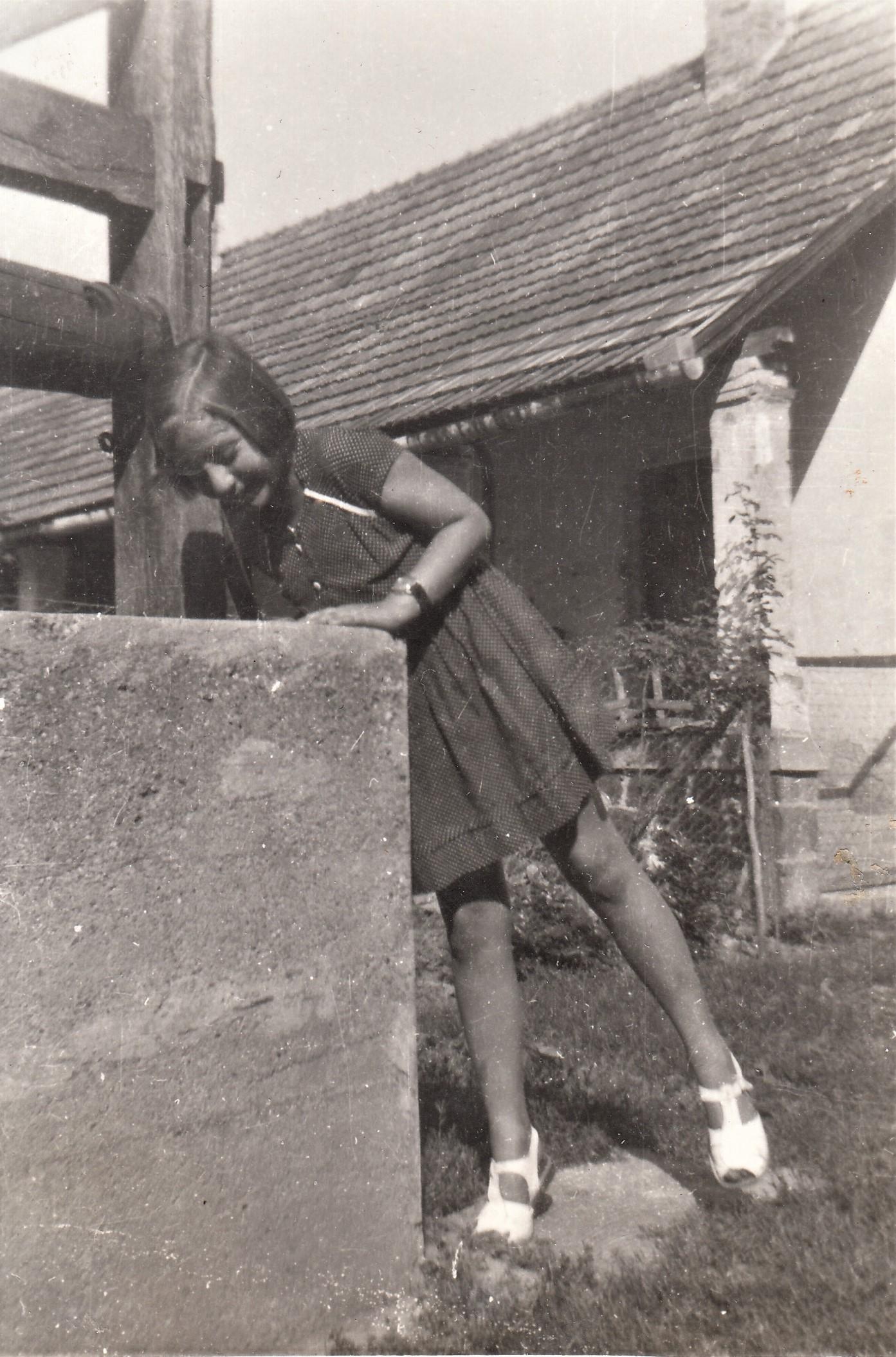Jeney Mariann gyerekként / Forrás: EP