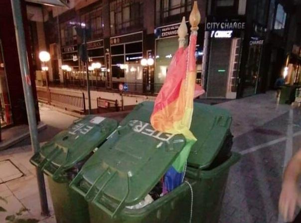 búza zászló a kukában facebook - PestiSrácok