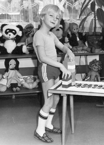 A kis Ocskay Gábor / Forrás: Családi archívum