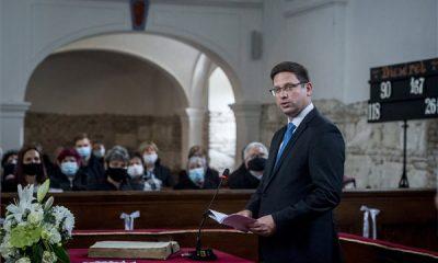 Hálaadó istentisztelet a szalkszentmártoni református templom felújításának alkalmából