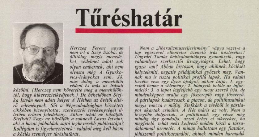 Miklós Gábor írása / Forrás: Arcanum.hu