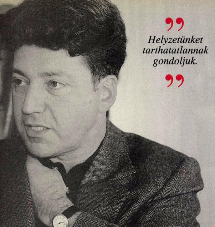 Mi is annak gondoltuk. Pető-interjú a 168 órában / Forrás: Arcanum.hu