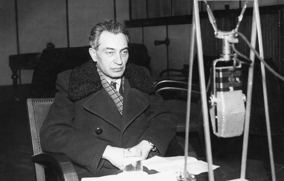 Gerő Ernő elvtárs 1955-ben / Fotó: Fortepan.hu, RTV