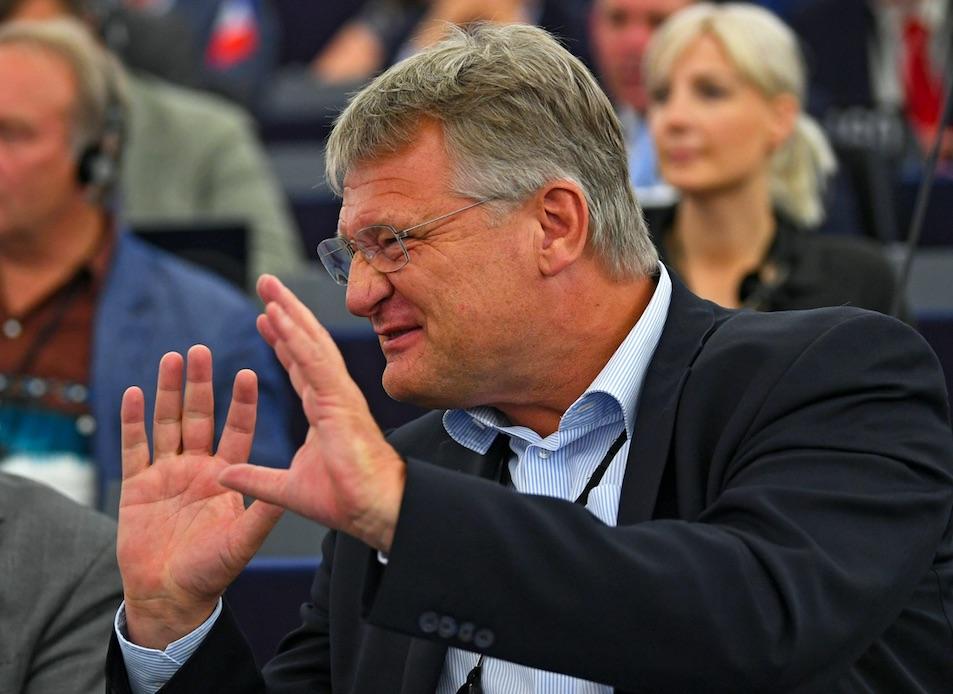 Jörg Meuthen sem kérne a hagymázas ötletből / Fotó: MTI/EPA