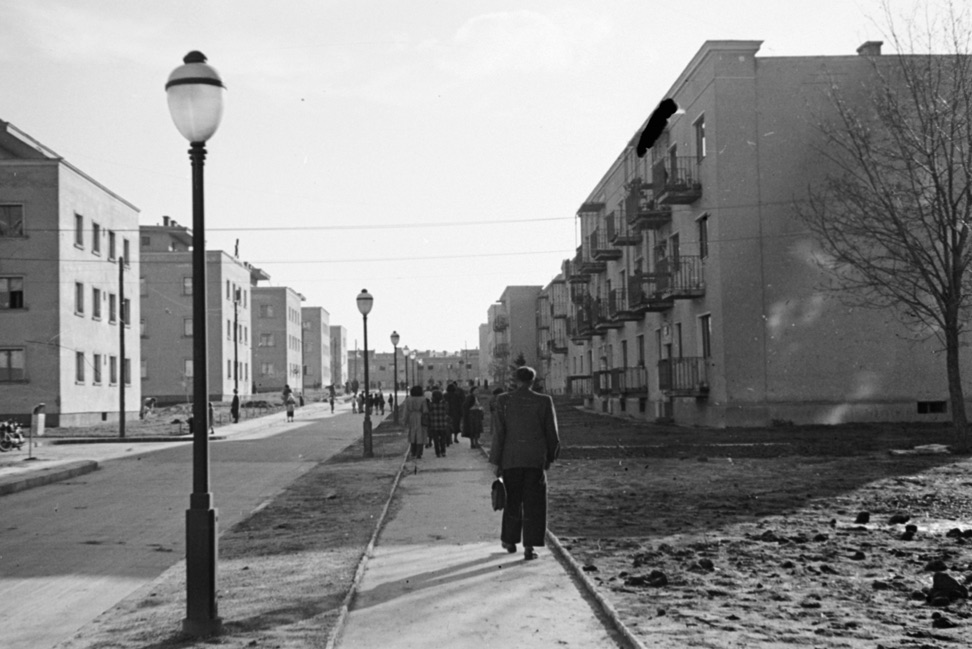 Sztálinváros / Fotó: Fortepan.hu, ADOMÁNYOZÓ Sattler Katalin