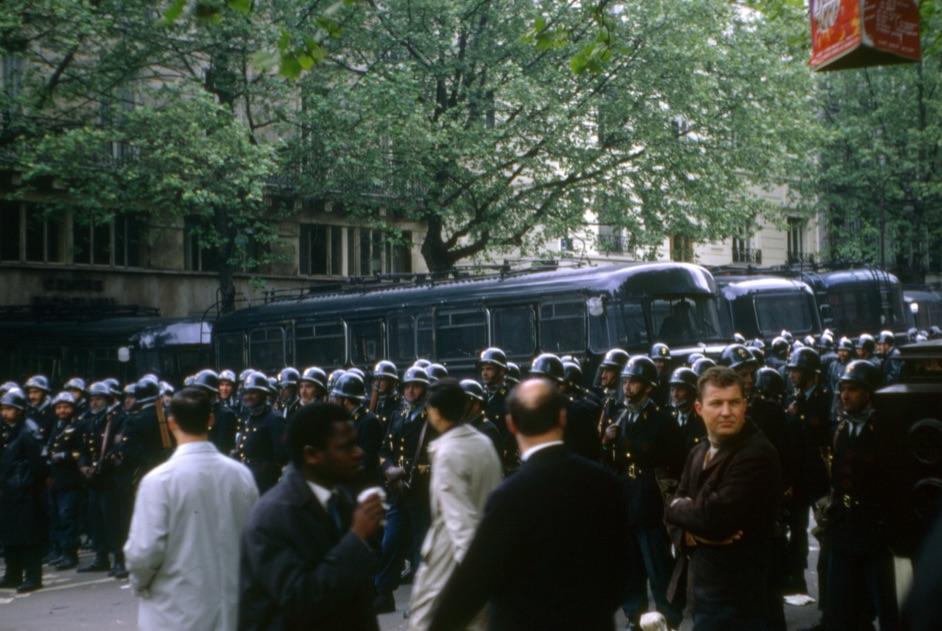 '68-as kép a diáklázadásokról / Fotó: Fortepan.hu, ad.: Szekrényesy Réka
