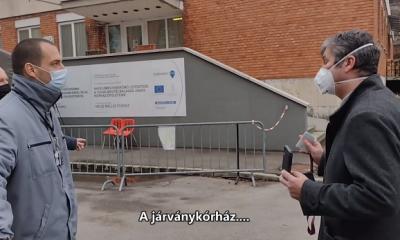 Hadházy Ákos ezúttal a szekszárdi kórház ajtajáról pattant le (VIDEÓ) -  PestiSrácok
