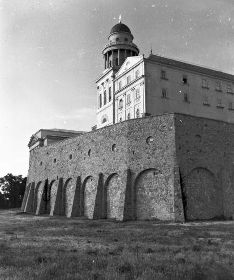 (Győrszentmárton), Szent Márton-hegy, Pannonhalmi Bencés Főapátság. Fortepan