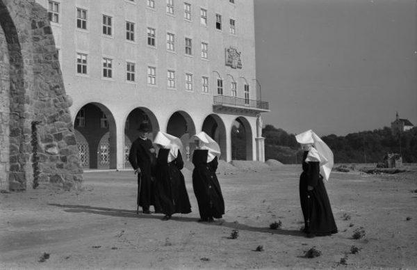 Boldog idők, 1943. (Győrszentmárton), Pannonhalmi Bencés Főapátság. Fortepan Rados Tamás OSB