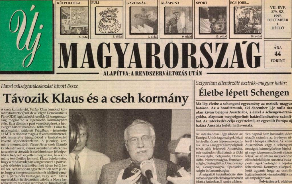 Címlap, forrás: Arcanum.hu